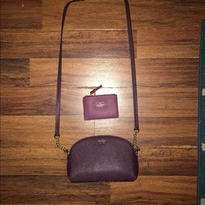 Kate spade wallet and purse. Purse never used.